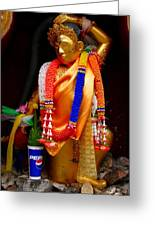 Buddism And Pepsi Shrine Greeting Card