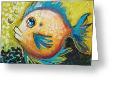 Buddy Fish Greeting Card