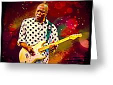 Buddy Guy Portrait Greeting Card
