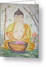 Budha Greeting Card