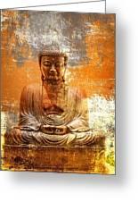Budha Textures Greeting Card