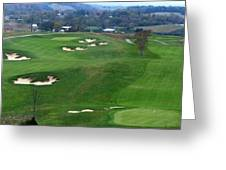 Buena Vista Golf Course Greeting Card