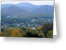 Buena Vista In The Fall Greeting Card