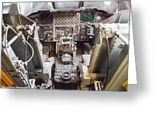 Buff Cockpit Greeting Card