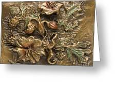 Buffalo Burr Flower Greeting Card