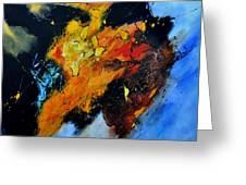 Buffalo-like Abstract  Greeting Card