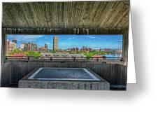 Buffalo New York Window Greeting Card