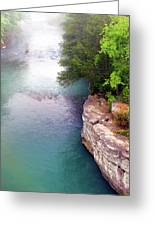 Buffalo River Mist Greeting Card
