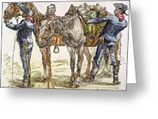Buffalo Soldiers, 1886 Greeting Card