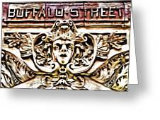 Buffalo Street Greeting Card
