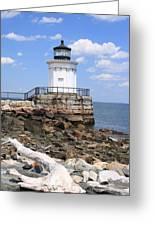 Bug Lighthouse Greeting Card