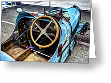 Bugatti Driver Side 1925 Greeting Card