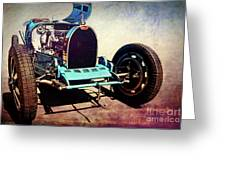 Bugatti Type 35c Greeting Card