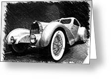 Bugatti Type 57 Aerolithe Greeting Card