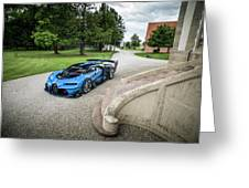 Bugatti Vision Gt Greeting Card