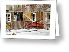 Buggy 'n Barn Greeting Card