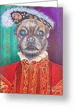 Bugsy First Earl Of Primrose Greeting Card