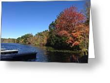 Buhl Lake Greeting Card