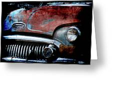 Buick Greeting Card
