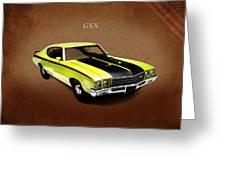 Buick Gsx 1971 Greeting Card
