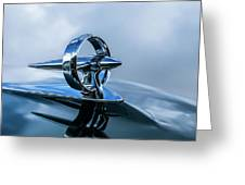 Buick Hood Ornament Greeting Card