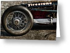 Buick Shafer 8 Greeting Card by Peter Chilelli
