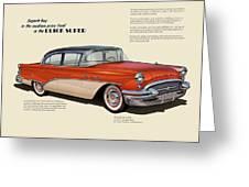 Buick Super Greeting Card