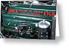 Buick Valve In Head Eight Greeting Card