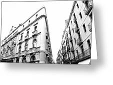Building Barcelona Greeting Card