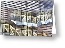 Building Closeup In Manhattan 10 Greeting Card