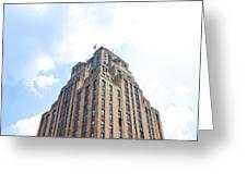 Building Closeup In Manhattan 2 Greeting Card