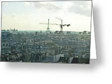 Building Paris Greeting Card