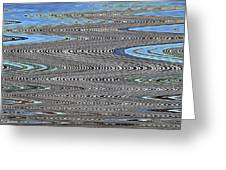Building Stretch Abstract Greeting Card