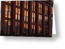 Building Sunsets Greeting Card