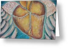 Building Wings Greeting Card