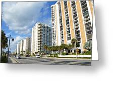 Buildings In Florida Greeting Card