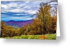 Bull Creek Valley Greeting Card
