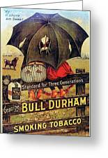 Bull Durham Smoking Tobacco Greeting Card