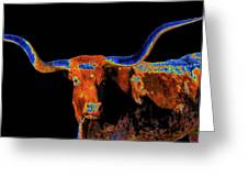 Bull II   14616 Greeting Card