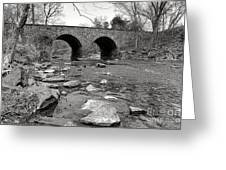 Bull Run Bridge Greeting Card