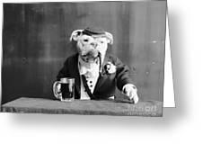 Bulldog, C1905 Greeting Card