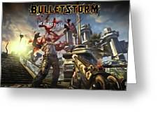 Bulletstorm Greeting Card