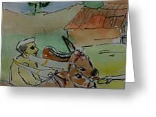 Bull's Greeting Card