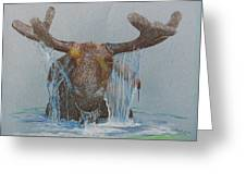 Bullwinkle Greeting Card