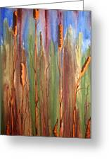 Bulrushes Greeting Card