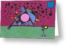Bumble Bird Greeting Card