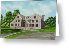 Bunch House Greeting Card