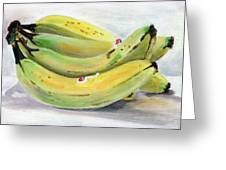 Bunch Of Bananas Greeting Card