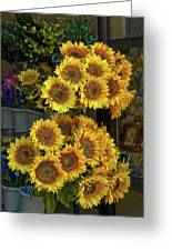 Bunches Of Sunflowers Greeting Card