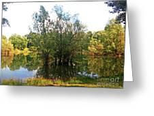 Bundek Park Zagreb #3 Greeting Card